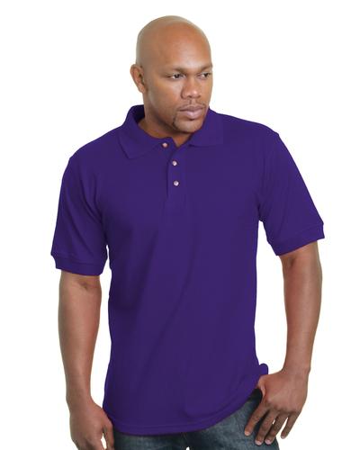 Made in the USA 100% Cotton Pique Polo